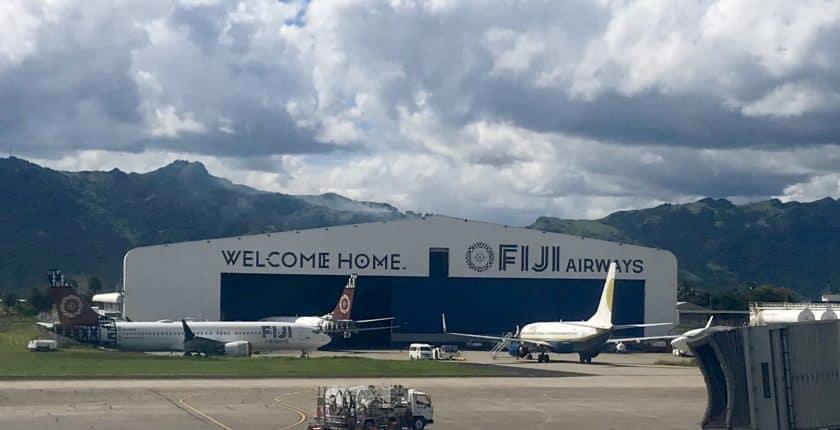Fiji Airways at Fiji Airport