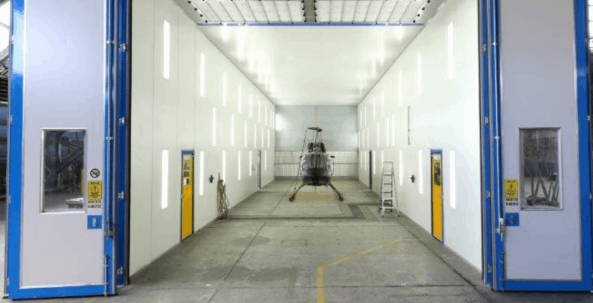 Aviat Global aviation spray painting booth